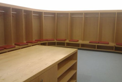 Bespoke Changing Rooms